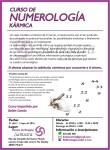 Curso numerología kármica 2016